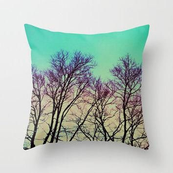 Past Life 2 Throw Pillow by Erin Jordan | Society6