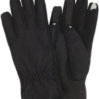 Amazon.com: Isotoner Women's Smartouch Matrix Gloves, Black, X-Small/Small: Clothing