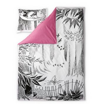 Moominpappa's Memoirs duvet cover set 150 x 210 cm by Finlayson