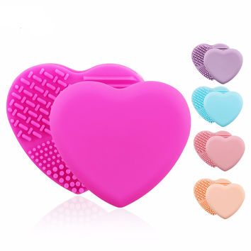 Sweetheart Makeup Brush Cleaning Pad