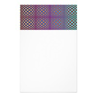 Abstract Squares 3 Stationery