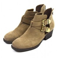Sandy Cut Out Ankle Bootie