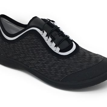 Clarks Cloudsteppers Dowling Pearl Black Synthetic Lace-Up Shoes