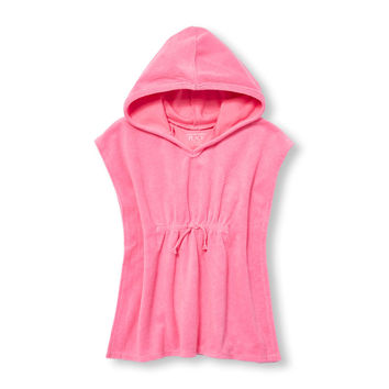 Toddler Girls Short Sleeve Hooded Cover-Up | The Children's Place