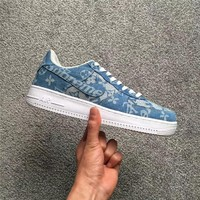 Supreme X Lv X Nike Air Force 1 Af1 Blue Sneaker Shoe Size 36 45 | Best Deal Online