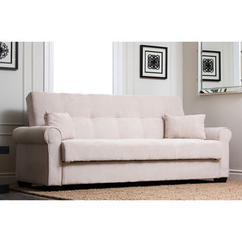ABBYSON LIVING Amy Fabric Sleeper Sofa Bed | Overstock.com Shopping - The Best Deals on Futons