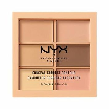 NYX Conceal, Correct, Contour Palette - Light - #3CP01