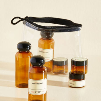 Set the Wheels in Potion Travel Bottle Set | Mod Retro Vintage Keychains | ModCloth.com