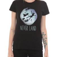 Disney Peter Pan Never Land Girls T-Shirt