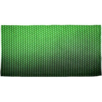 CREYCY8 Halloween Green Earth Dragon Scales Costume All Over Beach Towel