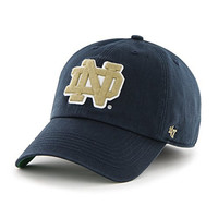 NCAA Notre Dame Fighting Irish '47 Franchise Fitted Hat, Navy, Small