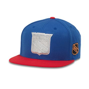 New York Rangers Silver Fox Hat