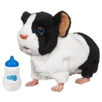 FurReal Friends Newborn - Guinea Pig Black And White