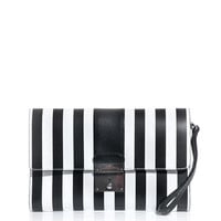 Isobel stripe clutch | Marc Jacobs | MATCHESFASHION.COM