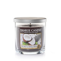 Coconut & Vanilla Bean : Small Tumbler Candles : Yankee Candle