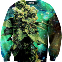 ☮♡ Weed Galaxy Sweater ✞☆