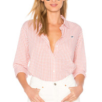 Obey 89 Check Button Down Shirt in Rose Multi | REVOLVE