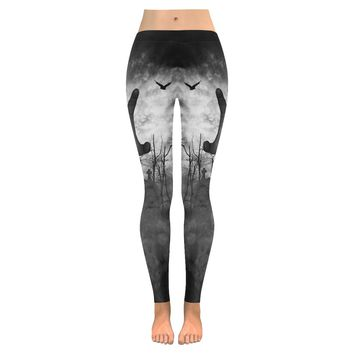 zombie Low Rise Leggings (Invisible Stitch) (Model L05)