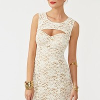 Cutout Crochet Dress in Clothes Dresses Body-Con at Nasty Gal