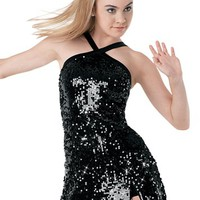 Ultra Sparkle Sequin Halterneck Dress | Balera™