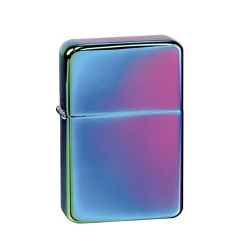 Vector KGM Thunderbird Vintage Lighter - Prism Rainbow Finish Hi Polish Chrome