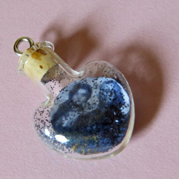 Ship in a Bottle Once Upon A Time Rumpelstiltskin and Belle Rumbelle Tiny Heart Charm for iPhone, Samsung, Nintendo, PSP, PS Vita or iPod