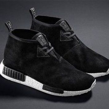 Adidas NMD Nomad C1 Core Black Chukka Boost S79146 Sneakers Men's Size 11 New