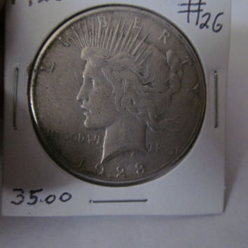 1923S Liberty Peace Dollar 1923 S Silver Dollar Antique Coins USA Silver Coins Antique Coins Us Currency Rare Coin Collection Coin Collector