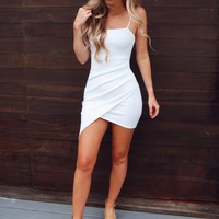 Rescue My Heart Dress: White