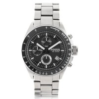 Fossil Designer Men's Watches Decker Stainless Steel Chronograph Watch