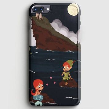 Peter Pan And Ariel Mermaid iPhone 7 Plus Case