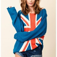 WILDFOX Penny Lane Save The Queen Sweater