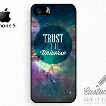 iPhone 5 4 Space Case  Explore Dream Discover  by CaseOfIdentity