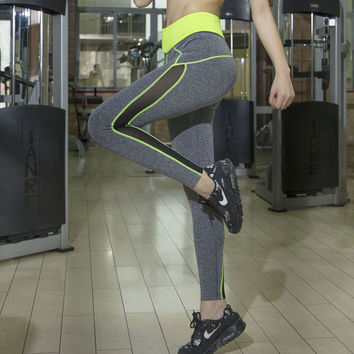 Yoga Pants Gym Stretch Quick Dry Sportswear [4920296452]