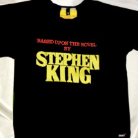 SWEET LORD O'MIGHTY! STEPHEN KING CROP TEE