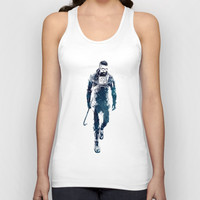 Gordon Freeman Unisex Tank Top by naumovski