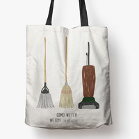 hocus pocus: we fly! - printed tote bag