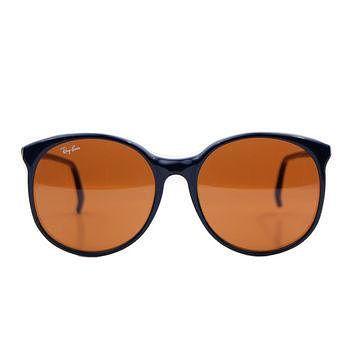 Vintage Ray Ban Bausch and Lomb Traditionals W0348 Bug Eye Sunglasses.