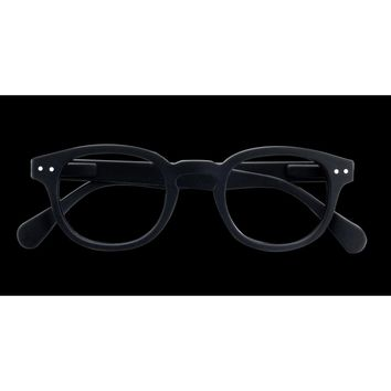Izipizi - #C Black  Eyeglasses / Screen Blue Light Clear Lenses