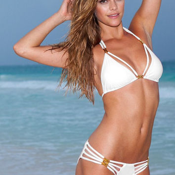 The Diva Bikini White