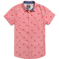 Modern Amusement Dino Roars Short Sleeve Woven Shirt at PacSun.com