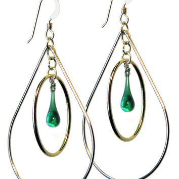 High Tide Pear Earrings