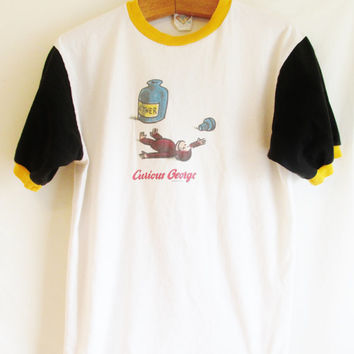 Vintage 1990's Curious George Ether TShirt