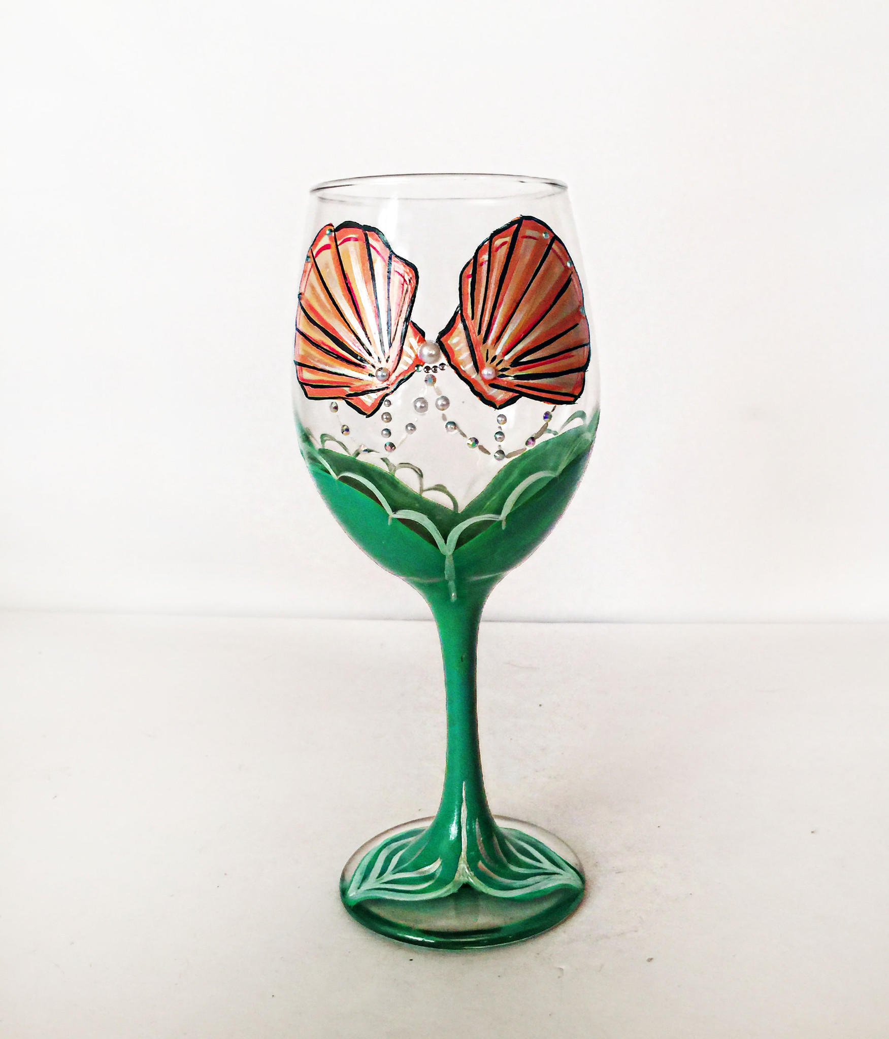 Mermaids wine glass plant bing images