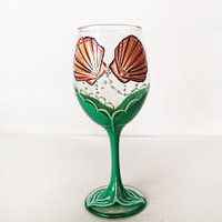 MERMAID wine glass - 20 oz