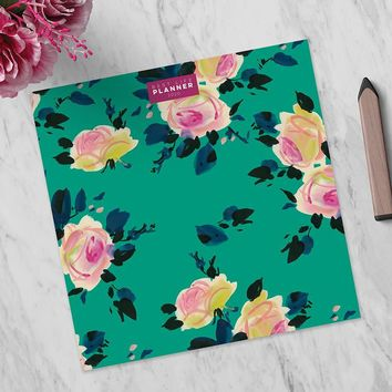 Pink Blossom Best Life Large Monthly Planner