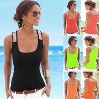 Womens Casual Slim Tank Top Gift 63