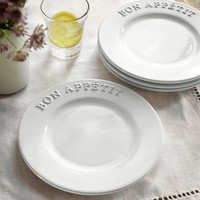 "RHODES ""BON APETIT"" SALAD PLATE, SET OF 4"
