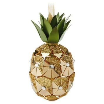 Pineapple Premium Metal Hallmark Ornament