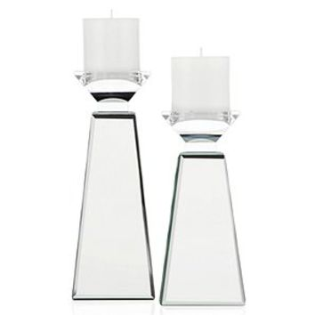 Prism Pillar Holder | Silver | Color Guide | Trends | Z Gallerie